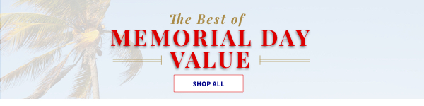 The best of Memorial day weekend value. Shop all.