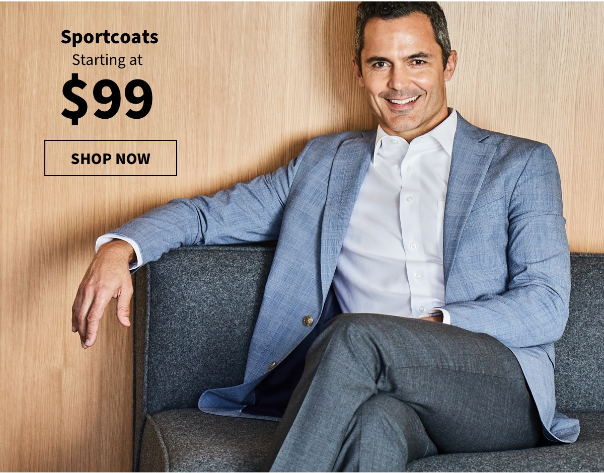 Sportcoats Starting at $99 - Shop Now