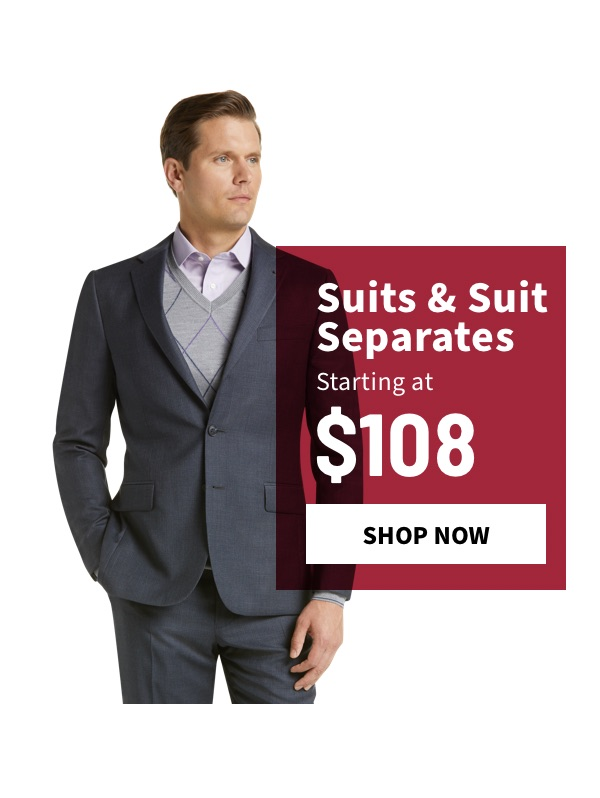 Suits & Suit Separates Starting at $108 - Shop Now