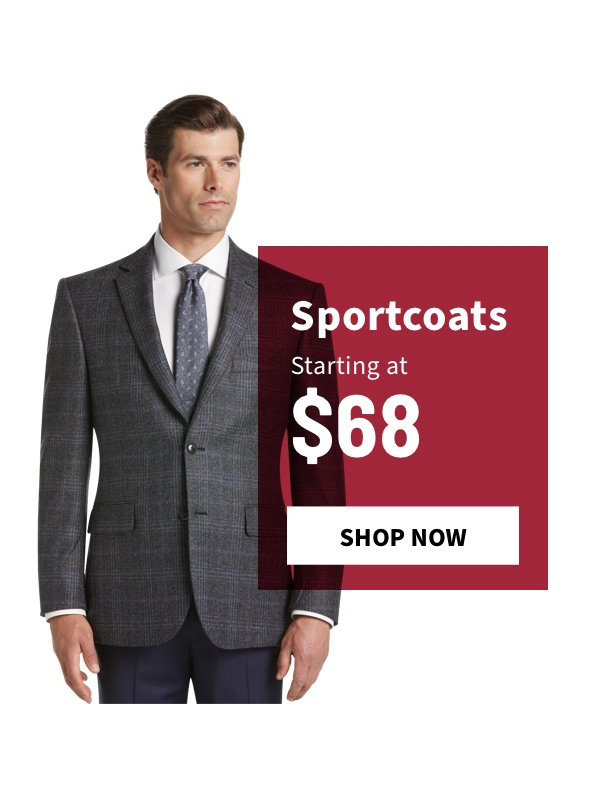 Sportcoats Starting at $68 - Shop Now