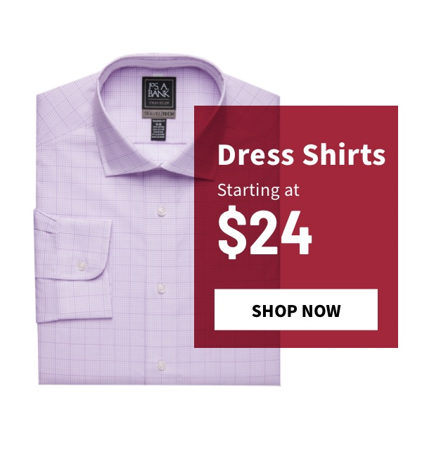 Dress Shirts Starting at $24 - Shop Now