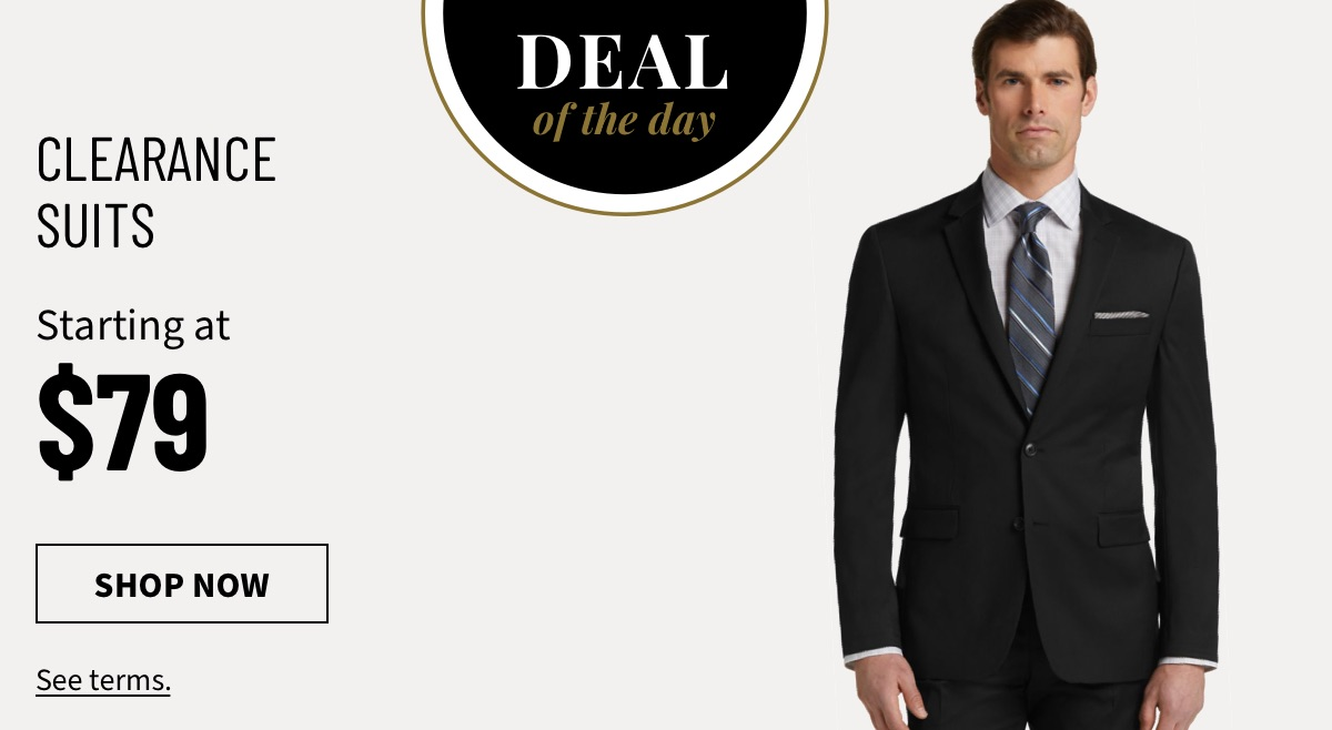DOD Clearance Suits Starting at $79 - Shop Now
