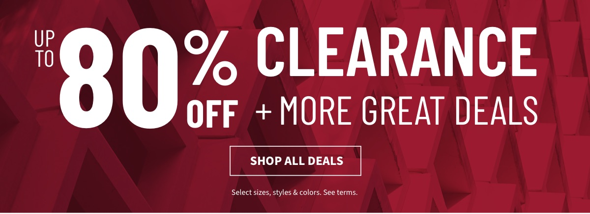 Up to 80% Off Clearance + More Great Deals - Shop Deals