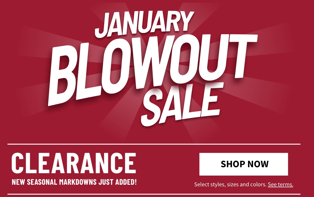 January Clearance Blowout | Clearance | New Seasonal Markdowns Just Added! - Shop Now