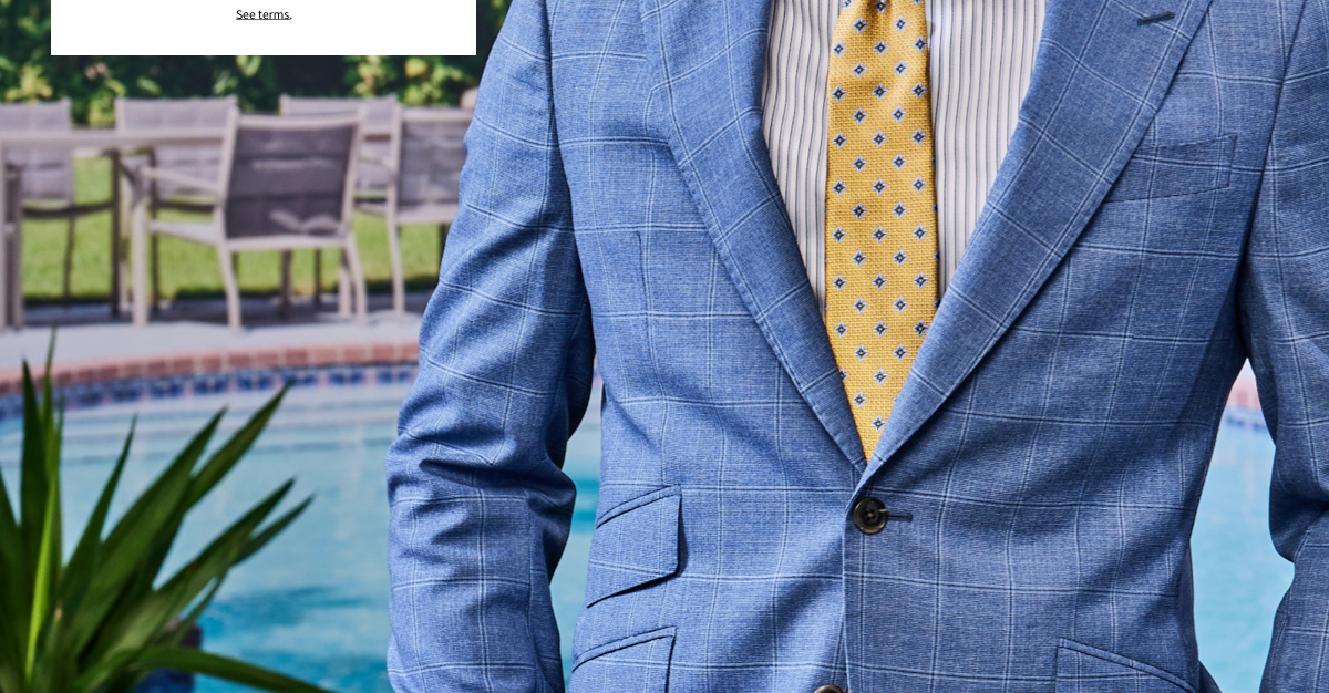 Reserve Custom Suits Up to 25% Off 2+